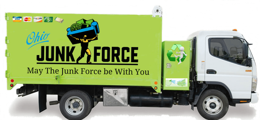 Junk Removal & Trash Hauling in Lorain County | Ohio Junk Force